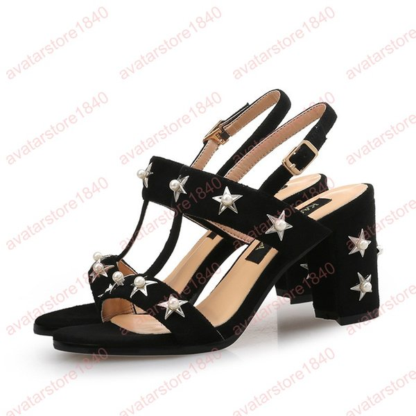 new design fast delivery super quality Block Heel Shoes Women'S Sandals Shoes Open Toe Heels Women Summer Shoes  Luxury Sandals Fetish High Heels Sandalias 2019 Cheap Shoes For Women Buy  ...