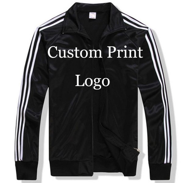 WholeTide- Custom Made Sportswear Jackets Custom Loose Jacket DIY Logos Screen Embroidery Print Customized Print Tracksuit Printed HY