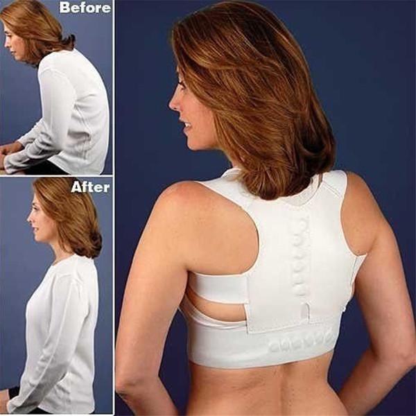 Health Magnetic Therapy Posture Corrector Brace Shoulder Back Support Belt Braces Men Woman Supports Belt Shoulder Posture