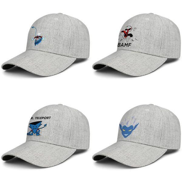 Nightcrawler x men happy kid Fashion Couple Customization Adjustable Snapback graphic caps cotton baseball cap mens hats Mesh Hat Cool