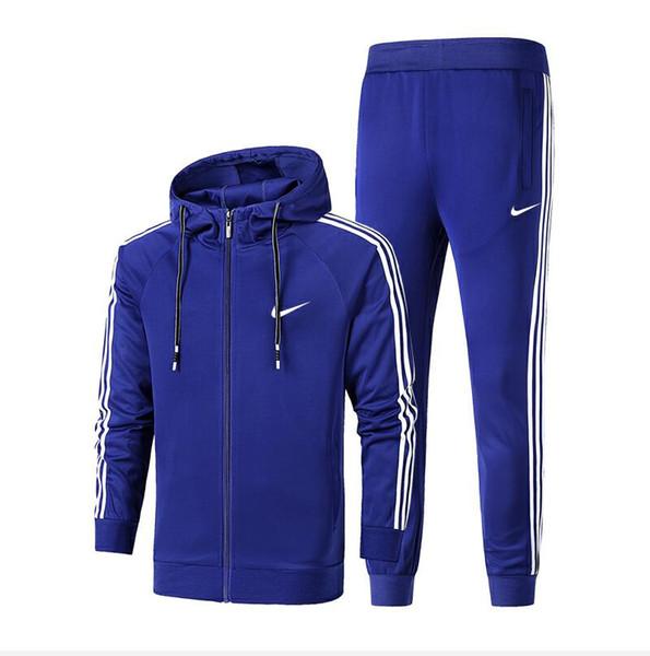 2019 новые зимние спортивные костюмы для мужчин дизайнерские пальто топы брюки костюмы логотип мода осень кардиган классические мужские толстовки кофты на молнии мужские