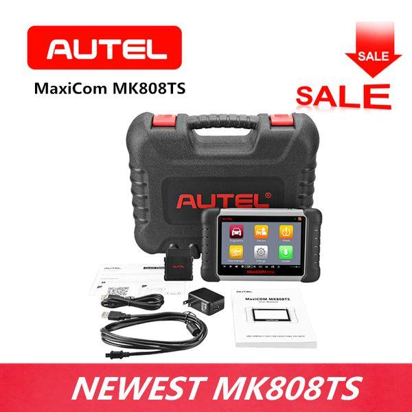 AUTEL MaxiCom MK808TS Diagnostic Tool OBD2 Scanner Oil Reset EPB BMS SAS DPF IMMO TPMS for DIYer Small Repair Store Code Reader