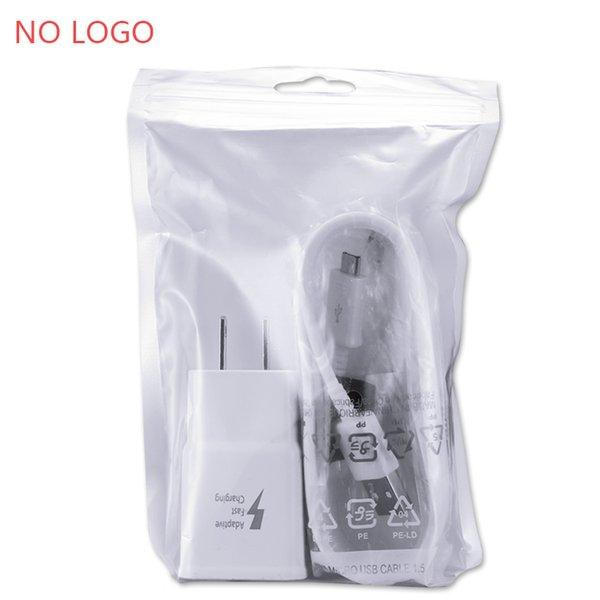 US-Ladegerät mit Micro-USB-Kabel