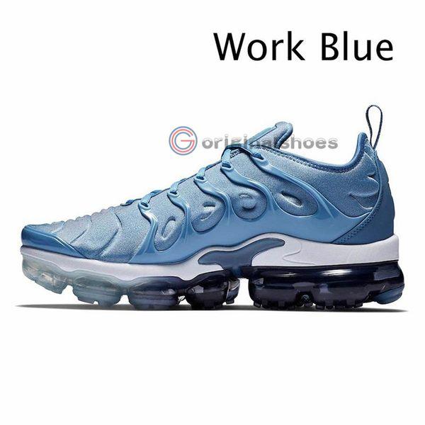 21-de trabajo azul