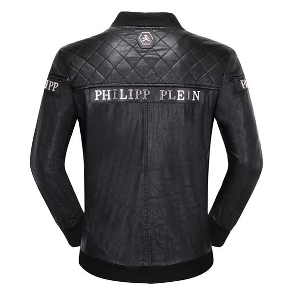 best selling Brand Men Jacket Coats Bikers Motorcycle Jackets Autumn Spring Clothes Outwear Overcoat Boy Tops 3XL Black