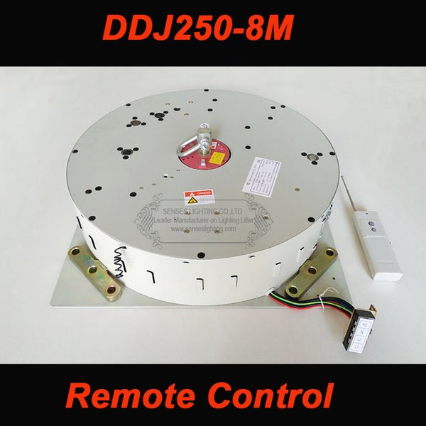 250KG 6M 8M 10M Chandelier Hoist Lighting Lifter Light Lifting System Chandelier Winch Lamp Motor Chandelier hoist with Remote Control