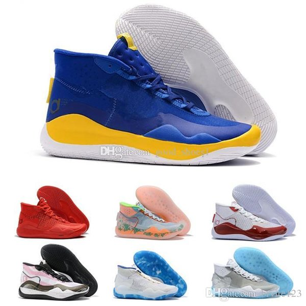 2019 New Kevin Durant XII KD 12 Anniversary Sports Basketball Shoes High Quality Men Sports Shoes KD12 Sneakers Size7-12