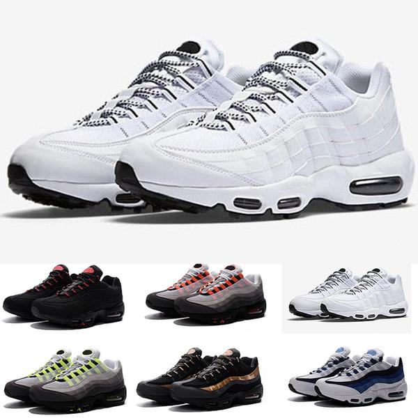1e7da1e9602 Nike air max 95 2018 hot air ultra 20o aniversário 95 og calçados  esportivos tênis para