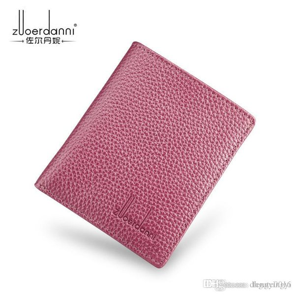 Hot classic business women card holder casual real leather mens wallets design top quality man cardholder 12abcdef 35