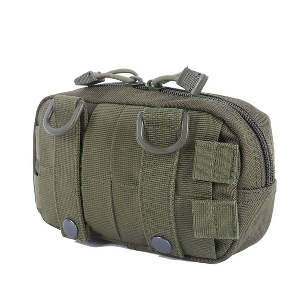 2018 EDC Tool Belt Bag Organizer Waist Pack Accessory Hunting Bag Tactical Molle Waist Bags Utility Map Admin Pouch #717425