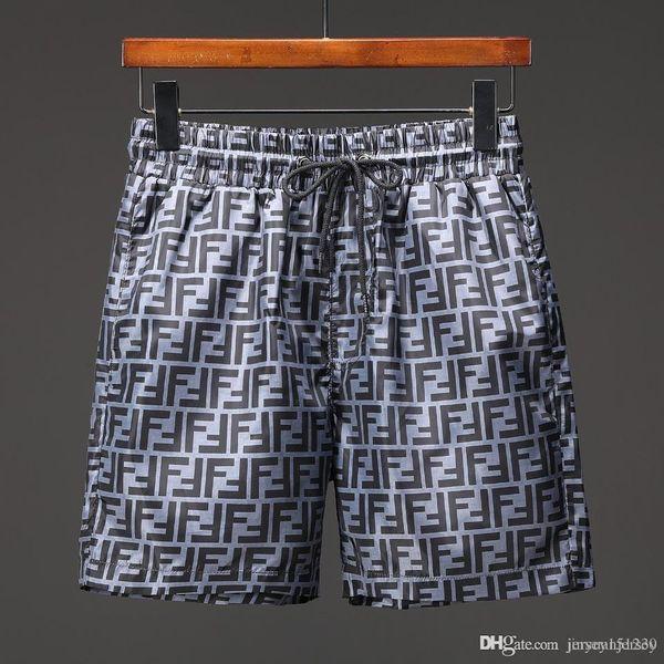 2019 All'ingrosso Semplice Nuovo Cotone traspirante Sudore traspirante Pantaloncini casual da uomo Sport Hip Hop Streetwear Spiaggia allentata Pantaloni