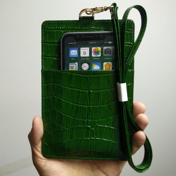 Чехол для телефона из натуральной кожи для iPhone X XS Max XR 6 6S 7 8 Плюс Роскошный ремешок из крокодиловой кожи Тонкий тонкий чехол
