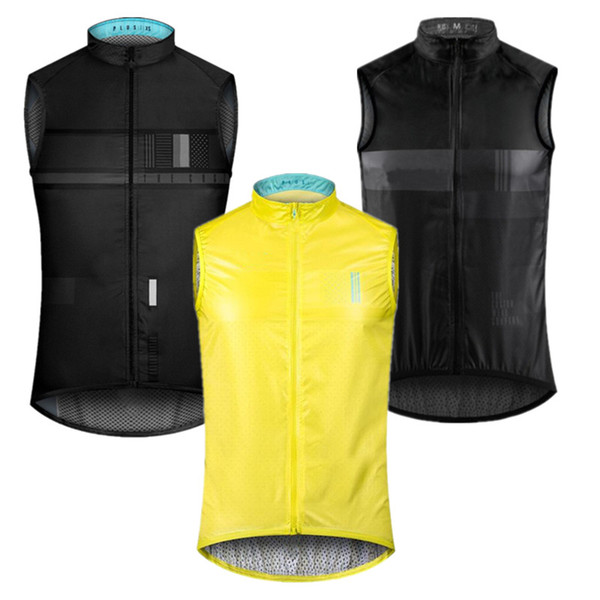 top popular 2019 autumn Top quality PRO TEAM lightweight windproof cycling GILET men or women cycling Windbreak vest wind vest 2020