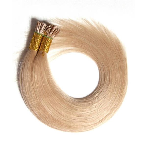 Kératine Bâton Extensions de cheveux humains 400strands 0,5g / s 18