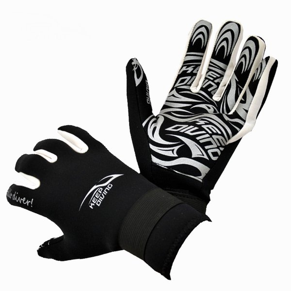 Diving Gloves for Spearfishing Underwater Fishing Hunting Swimming Keep Warm Diving Accessories