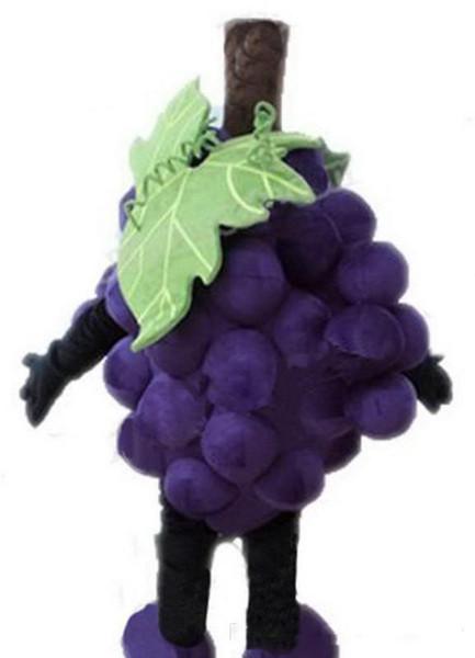 2019 Factory Outlets hot new EVA Material Grapes Super grape Mascot Costumes Crayon Cartoon Apparel Birthday party Masquerade