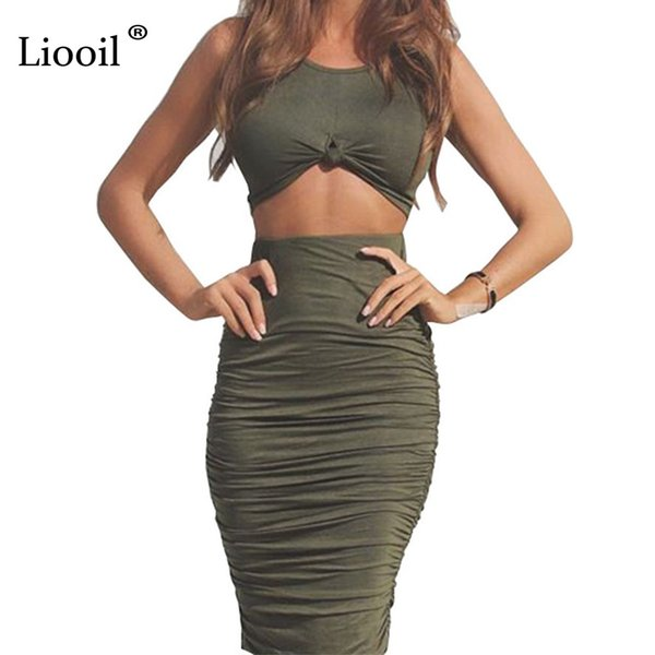 Liooil Sweetheart Neckline Ruched Midi Bodycon for Women Sundress Casual Sheath T Shirt Dress