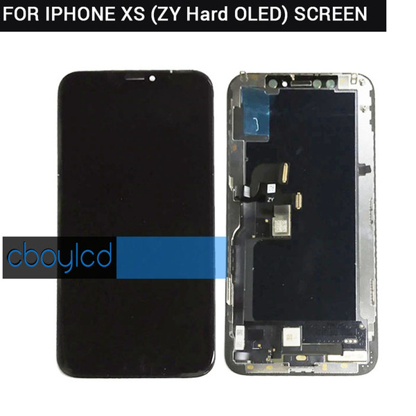 premium selection d650e cf279 2019 GradeA+++ For IPhone X S XS LCD Display For Tianma AMOLED OLED OEM  Touch Screen With Digitizer Replacement Assembly Parts Black From ...