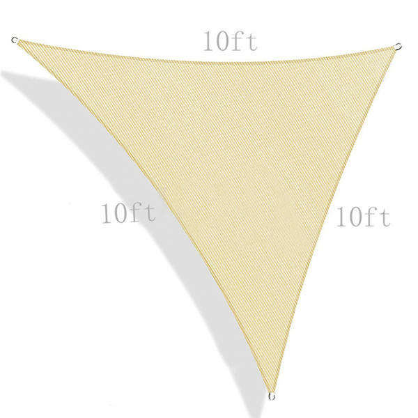 Sun Shade Sail Canopy UV Block for Patio Deck Yard and Outdoor Activities Camping Hiking Yard Patio Garden