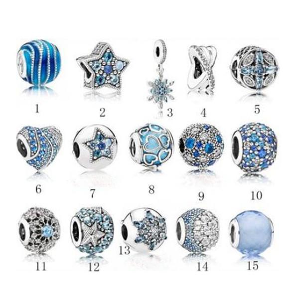 Nueva alta calidad de marca de moda caliente cuentas de plata S925 cuentas de plata adecuado para las niñas de moda y parejas regalos PDG01