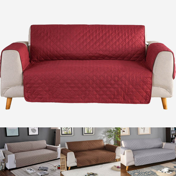Phenomenal Sofa Cover For Living Room Chair Pet Dog Kid Mat Furniture Protector Washable Armrest Slipcover White Couch Cover 1 2 3 Seat Settee Slipcover Leather Gmtry Best Dining Table And Chair Ideas Images Gmtryco