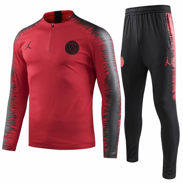 Men's sports tights fitness set quick dry gym spring/summer basketball equipment running training set morning running coat training wear red