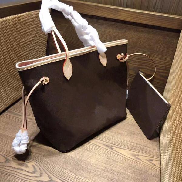Borse da donna classiche vintage Set di 2 pezzi tote bag moda borsa a tracolla di fascia alta in pelle pochette portafoglio preferito da donna