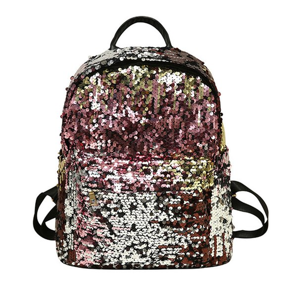 Fashion Children's Bags Sequins Girls Backpack Cool Shiny Personalized Princess School Bag Beautiful Bling Kids Travel Backpack