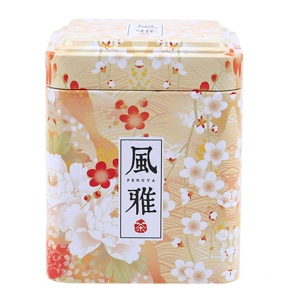 Tea Caddies Iron Tin Box for Candy Biscuit Cookie Chocolate Storage Box Coffee Can for Gift Retro Chinese Tea Caddies zomohongchen