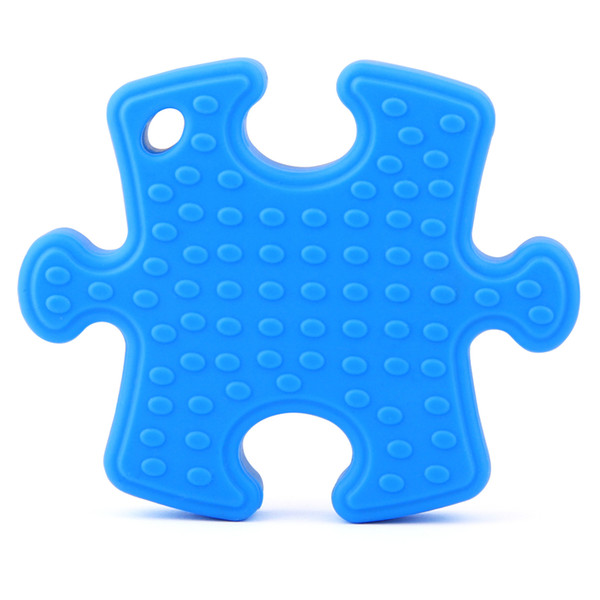 New 2019 Hot Multifunctional Baby Teethers Child Kids Puzzle Shape Safe Food Grade Silicone Teething Toy For Baby Molars Gums Dental Care