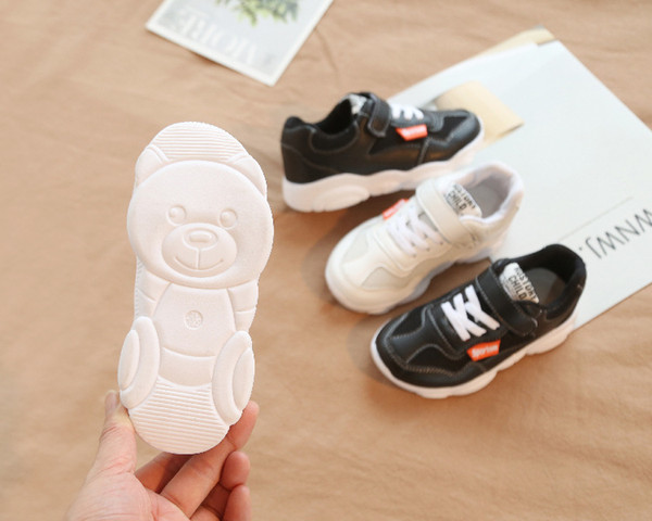 Frühling neue Mädchen Schuhe super perfekte atmungsaktive Jungen Schule Schuhe Turnschuhe Super weich und bequem 26-30