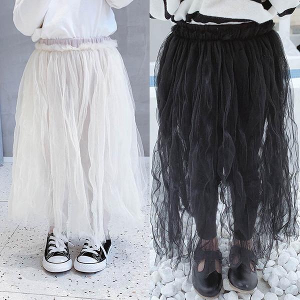 Nouveau 2019 hiver filles jupe pantalons mode filles leggings enfants vêtements de marque filles tutu jupe collants enfants pantalon A7583