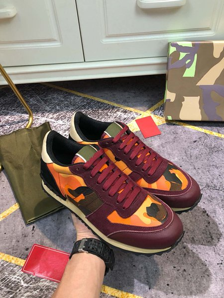 Low Top Casual Shoes Men Women White Leather Sneaker Luxury Designer Multicolor Casual Shoes Classic Lacing-Up Outdoor Casual Sneaker