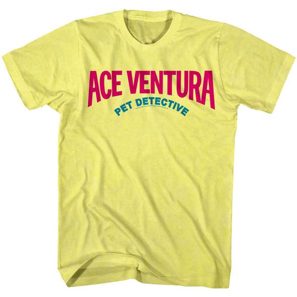 Ace Ventura Pet Detective Movie Logo Men's T Shirt Jim Carrey 90s Comedy Top Men Women Unisex Fashion tshirt Free Shipping