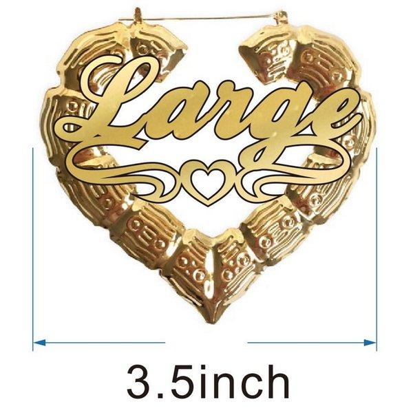 3.5inch الذهب قلب الخط 4