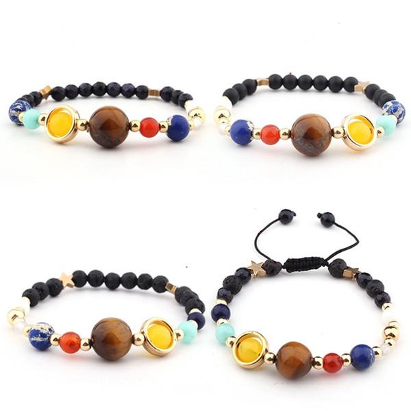 7 Chakra Bracelets for Women Men Luxury Jewelry Adjustable Natural Stone Bead healing Bracelet Best Gift