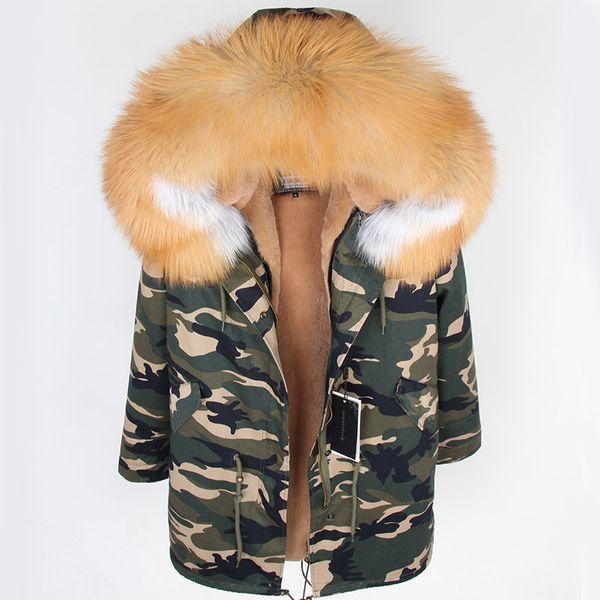 Col en fourrure de renard rouge arctique et doublure en velours doux amovibles pour la veste de parkas Long Down pour femmes 7 au choix