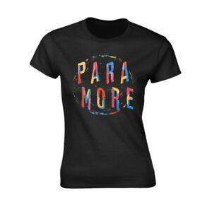 Paramore Painting Spiral T-Shirt Mens BlaPrint Small New