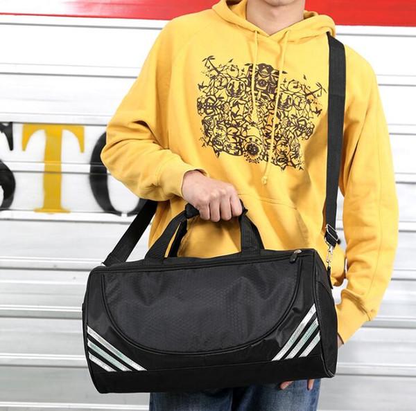 Schwimmen Fitness Tasche Einzel Schulter Zylinder Taschen Yoga Tasche Gedruckt Taekwondo Tasche Sport Handtasche Reise Erhalt Taschen Handtaschen Gepäck JS24