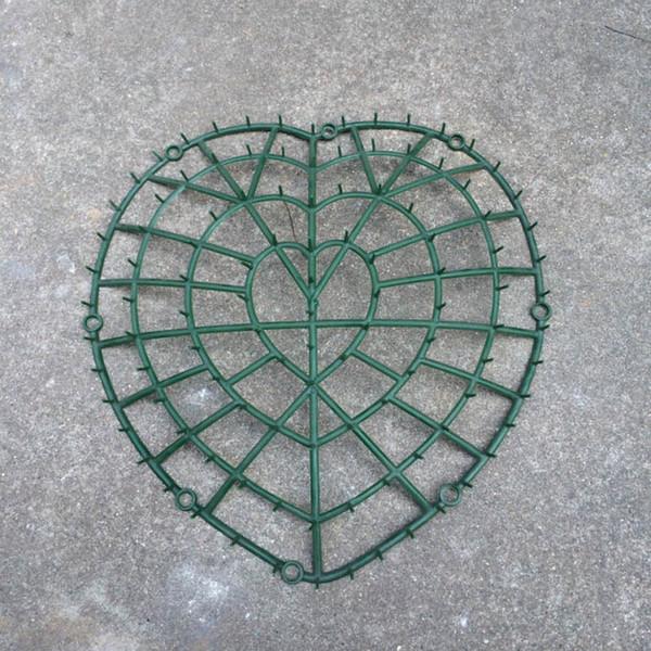 1 PCS Fleurs artificielles accories bricolage décoration de voiture de mariage coeur bricolage fleur supports de ceinture de boue de fleur