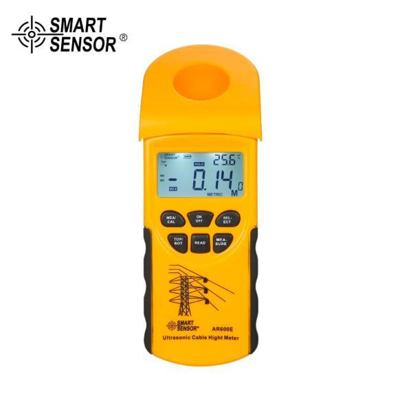 SMART SENSO AR600E ultrasons Câble Hauteur 6 mètres Câbles écran LCD Mesure Plage de mesure (hauteur 3-23m, 3-15m Avion)