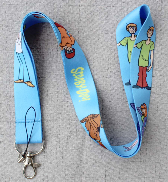 best selling New Scooby Doo Dog Key ID Card Cell Phone Neck Strap Lanyard-CPPY