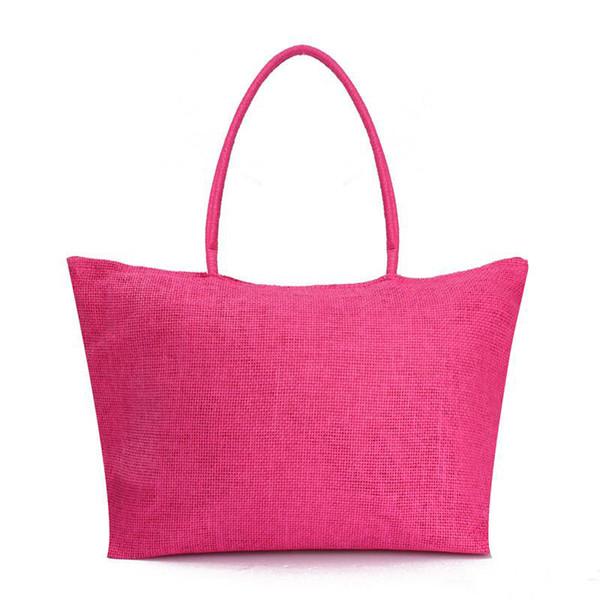 NEW Popular Summer Weave Woven Shoulder Big Women Messenger Straw Bag Hand Beach Tote Bags Handbag free fast shipping in stock