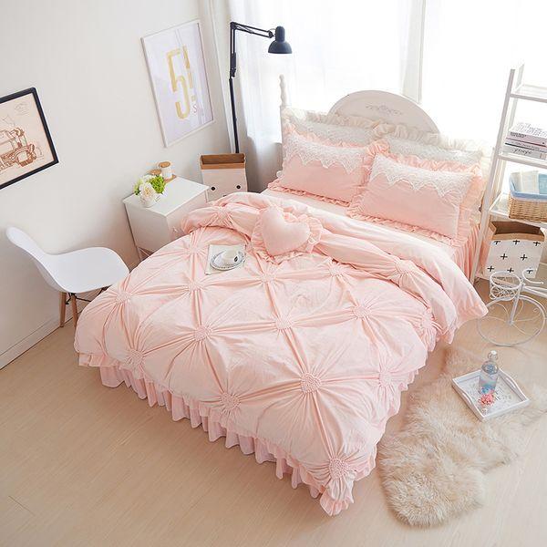 Modern Princess Fleece Winter Bedding Set Purple Blue Pink Full Queen Size  Duvet Cover Sets Oriental Style Bed Linen Bedclothes Grey And White Duvet  ...