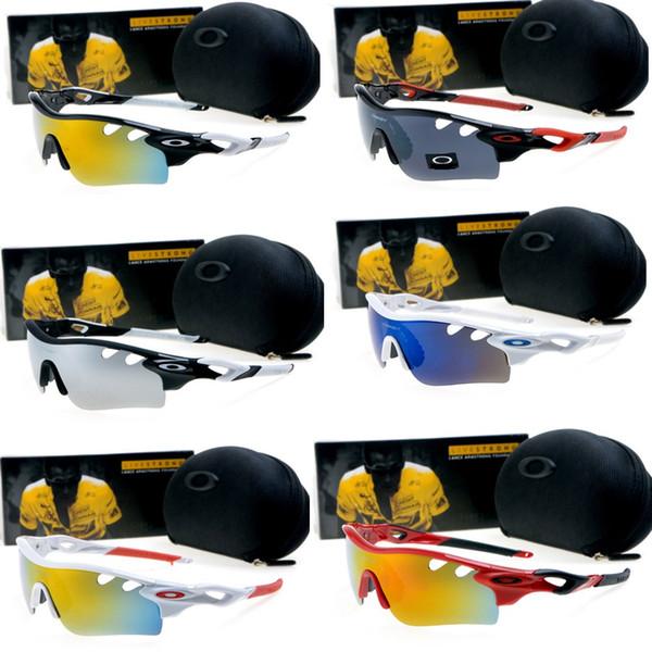 Nova Polarizada Marca Ciclismo Óculos De Sol De Corrida Esporte Ciclismo Óculos Mountain Bike Óculos Intercambiáveis 3 Lente Ao Ar Livre Ciclismo Eyewear