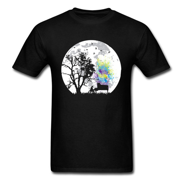 a3adf5e81 T-shirt Men T Shirt Moonlight Song Tees Europe Tee - Shirt Wholesale Art  Design
