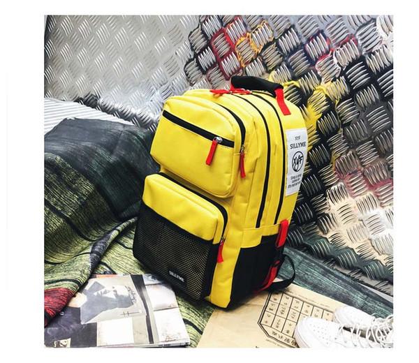 Оптовая Сумка новая сумка тенденции моды британского академического стиля студентов средней школы средней школы путешествия рюкзак B102031J