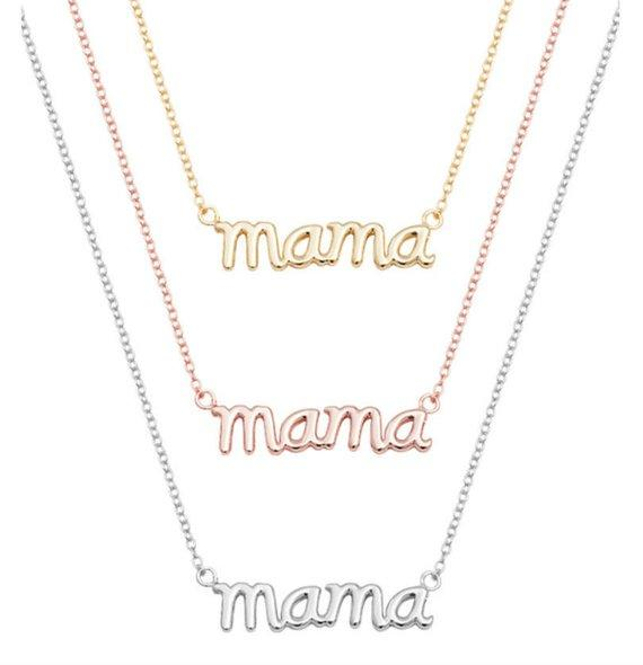 Английский алфавит инициалы мама мама мама кулон ожерелье день матери ожерелье мама ожерелье день матери подарок ювелирные изделия