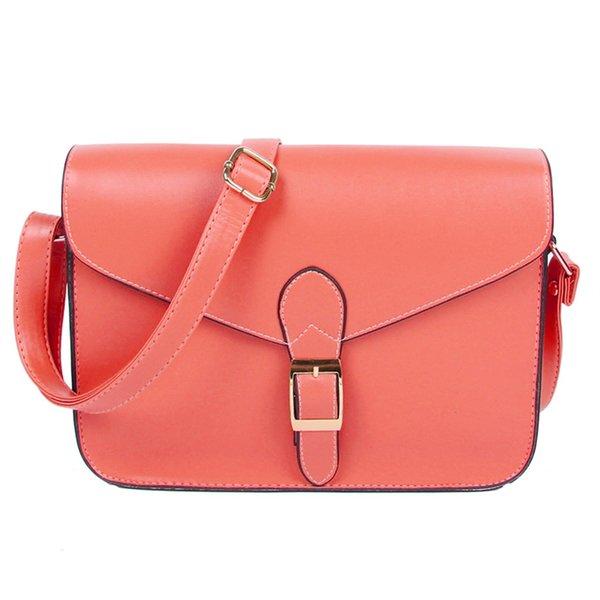 Borsa a tracolla da donna borsa a tracolla vintage stile preppy borsa tracolla di alta qualità anguria rossa # 187328