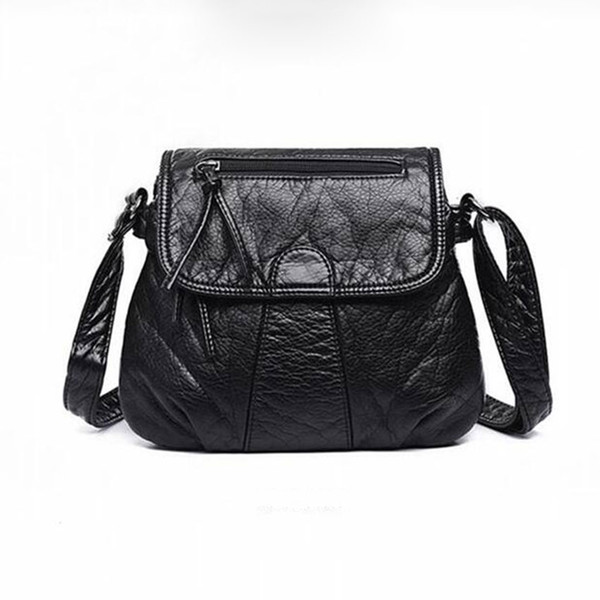 New pu petit sac carré Messenger épaule sac dame sauvage occasionnels sac à main